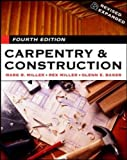 Carpentry & Construction (0071440089) by Miller,Mark