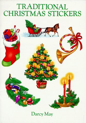 Traditional Christmas Stickers: 20 Pressure-Sensitive Designs (Dover Stickers)