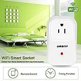 Urant Smart Plug with Energy Monitoring, Wi-Fi
