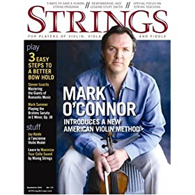 Strings Magazine--Great Resource for Violinists, Fiddlers, Violists, Cellists and Bassists. Violin Resources.