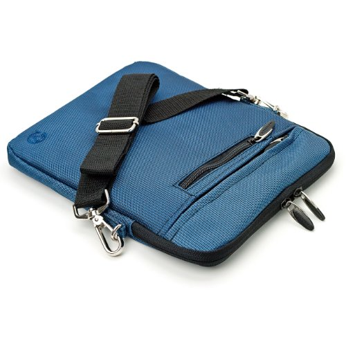 VG Hydei Edition Navy Blue Nylon Protective Carrying Bag with Removable Shoulder Strap for HP TouchPad 9.7-inch Tablet Computer
