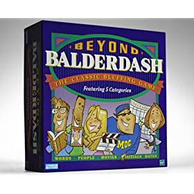 Beyond Balderdash board game!