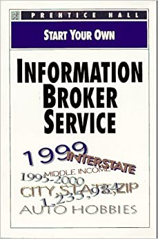 Starting an information broker business