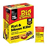 The Big Cheese 20 x 40g Rat and Mouse Killer (Bait Packs)