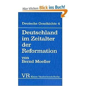 eBook Cover für  Deutsche Geschichte Taschenbuchausgabe Deutsche Geschichte Deutschland im Zeitalter der Reformation Bd 4 Kleine Vandenhoeck Reihe
