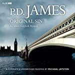 Original Sin (       UNABRIDGED) by P.D. James Narrated by Michael Jayston
