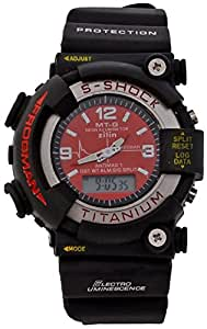 Pappi Boss Pappi Boss S Shock LED Digital & Analog Red Dial Sports Watch for Boys, Men