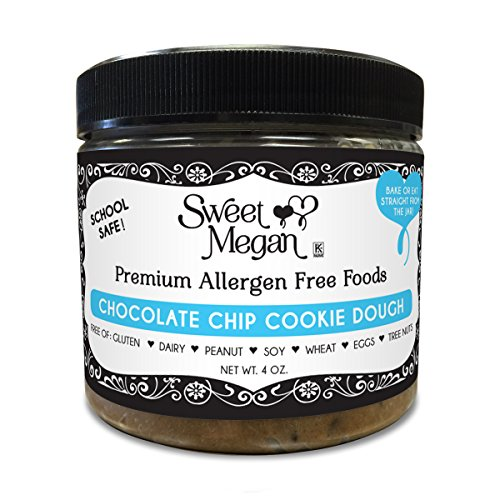 Sweet Megan Edible Bake-able Cookie Dough 4 oz. (Chocolate Chip) (Edible Dough compare prices)