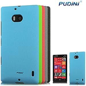 Nokia Lumia 930 Case, Pudini [Extra Slim Fit] Quick Sand [Black] Protective Hard Cover Case for Nokia Lumia 930 - Black