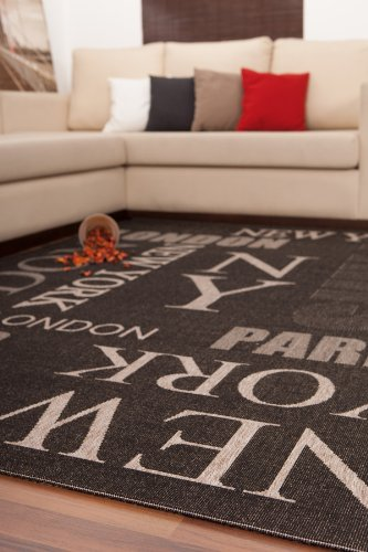 Teppiche Lalee OHG Finca 511  Tappeto colore Grafite