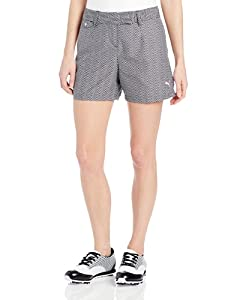 Puma Golf NA Ladies Novelty Graphic Shorts by PUMA