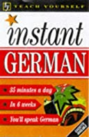 Instant German  by Smith