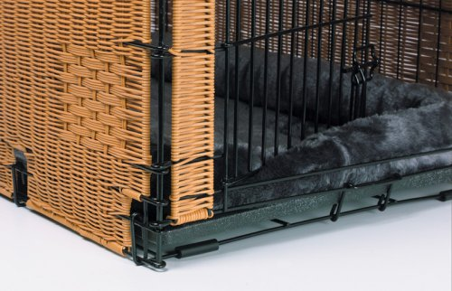 Large Size Wicker Dog Crate