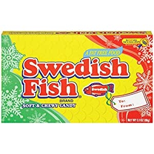 Swedish fish swedish fish movie theater box for Swedish fish amazon