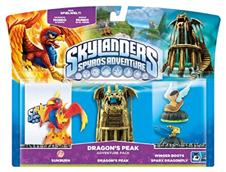 Skylanders: Spyro's Adventure - Dragon's Peak Adventure Pack
