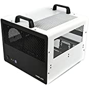 CaseLabs Bullet BH7 ATX Case With Handles And Dual Windows, White