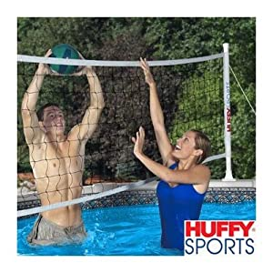 Huffy Above Ground 30 39 Pool Volleyball Kit 32 39 Basketball Equipment Sports
