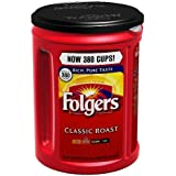 Folgers Classic Roast Ground Coffee - 48 oz. - CASE PACK OF 2