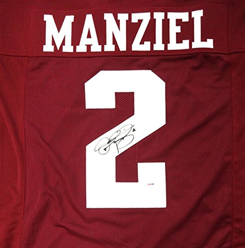 Johnny Manziel Autographed Texas A&M Aggies Maroon Jersey PSA/DNA Stock #86962