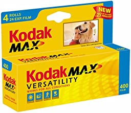 Kodak GC135-24-4H Gold Max 400 Speed 24 Exposure 35mm Film - 4 Pack