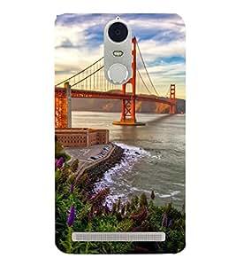 SUSPENSION SEA LINK AT SUNSET 3D Hard Polycarbonate Designer Back Case Cover for Lenovo K5 Note