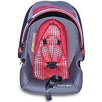 Sunbaby Car Seat (Gray/Red)