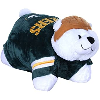 Green Bay Packer Pillow Pet