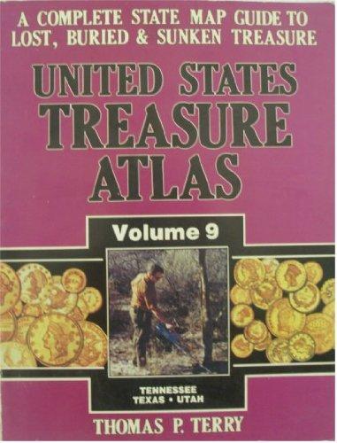United States Treasure Atlas Vol.9 Tennessee-Texas-Utah