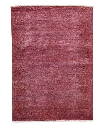 Darya Rugs Ziegler One of a Kind Rug, Pink, 4' x 6'