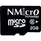 NMicro 2GB micro SD C2 Class 2 2~6MB write/s microSD micro Flash memory card without Adapter