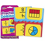 Fractions Dominoes Challenge Cards