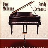 echange, troc Dave Mckenna & Buddy Defranco - You Must Believe in Swing