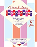 img - for Vocabulary Improvement Program for English Language Learners and Their Classmates, 5th Grade book / textbook / text book