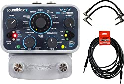 Source Audio Soundblox 2 OFD Overdrive/Fuzz/Distortion Bass Guitar Micro Modeler Pedal SA228 w/ Power Supply and 3 Cables from Source Audio