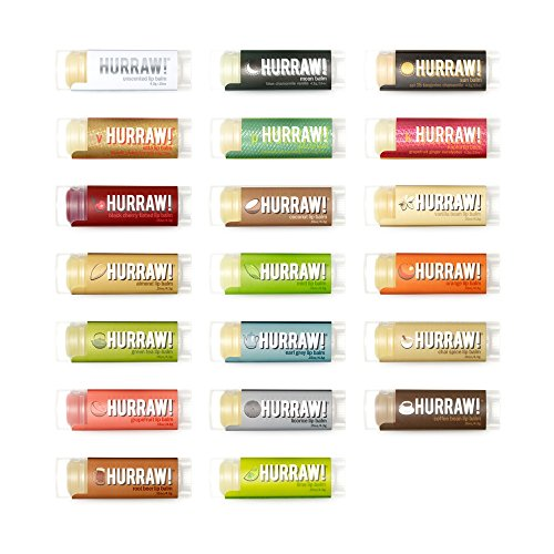 hurraw-lip-balm-100-organic-natural-15oz-43g-5-pack-any-5-scents-23-scents-to-choose