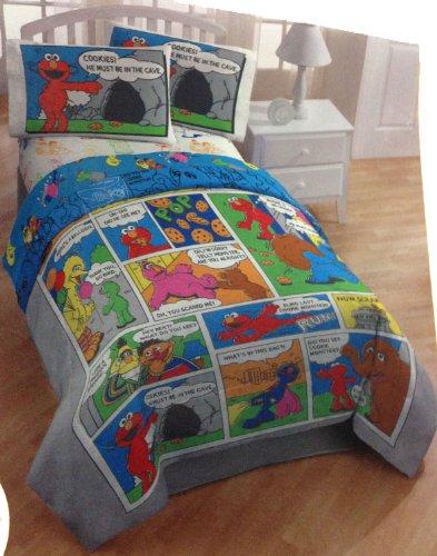 Awardwiki Sesame Street Twin Bed Set