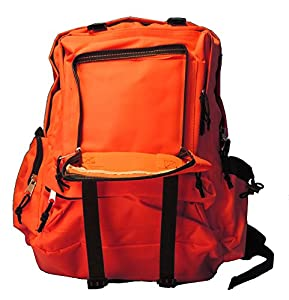 Blaze Orange Hunting Hiking Backpack