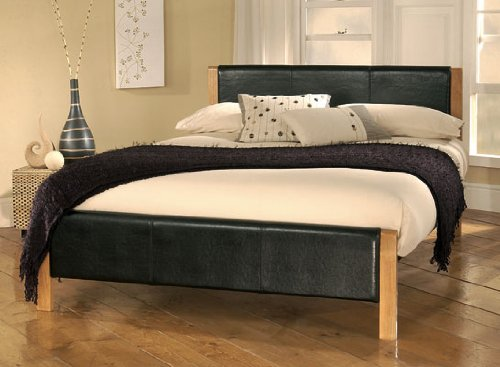 Luxury Limelight ElanBeds Mira Leather Bed Frame Frame ft single