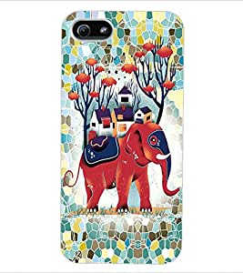 ColourCraft Cartoon Back Case Cover for APPLE IPHONE 5