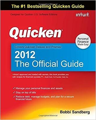 Quicken 2012 The Official Guide (Quicken Press) written by Bobbi Sandberg