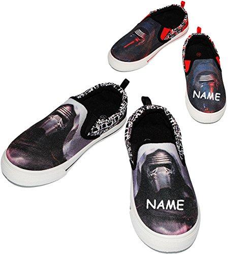 canvas schuhe sneaker gr e 25 bis 32 star wars. Black Bedroom Furniture Sets. Home Design Ideas