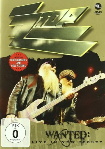 Zz Top - Wanted - Live In New Jersey - Dvd