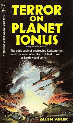 Image for Terror on planet Ionus: (formerly Mach 1)