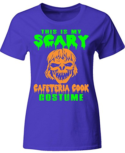 This Is My Scary Cafeteria Cook Costume Halloween - Ladies T-shirt (2)