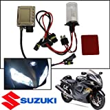 TGP H4 8000k Iceberg Blue AC HID Xenon Kit (Low Beam Only) with Halogen High 1990-1997 Suzuki GSX600F Katana