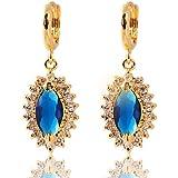 Women Jewelry Sale Nib Yellow Gold Plated Earings Big Earrings