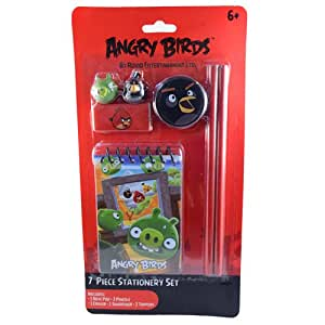 Angry Birds 7-in-1 Stationery Set