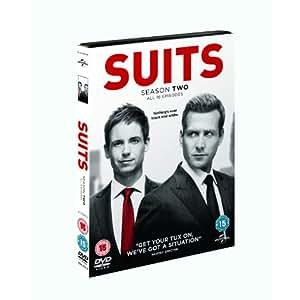 """Suits - Season 2"" - Staffel 2 - DVD - Region 2 - UK-Import - englisch"