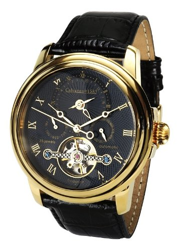 Calvaneo Evidence Gold, Black Dial