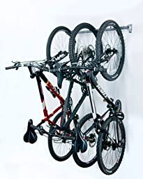Monkey Bars Bike Storage Rack, Stores 3 Bikes by Monkey Bars